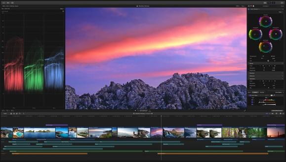 Apple Final Cut Pro画面